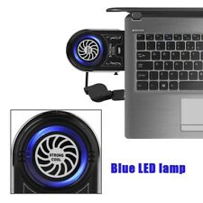 Portable External Vacuum Notebook Laptop Cooler USB Air Extracting Cooling Fan H