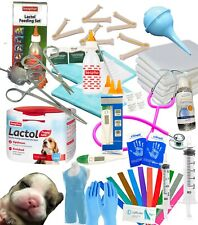 More details for complete deluxe whelping supplies kit lactol puppy milk dog warwick whelping box