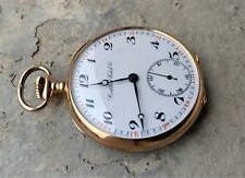 Cortebert gold pocket watch MINT