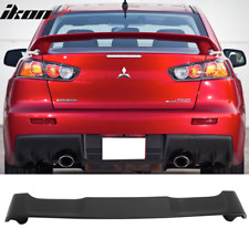Fits 08-17 Mitsubishi Lancer Oe Factory Style Trunk Spoiler Unpainted - Abs (Fits: Mitsubishi Lancer)