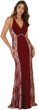 SALE ! PROM STRETCHY EVENING FORMAL GOWN SPECIAL OCCASION LONG DRESSES UNER $100