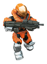 Mega Bloks Halo UNSC Spartan EVA Orange - Delta Series Minifigure