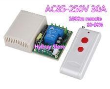 AC 110V 220V Far Distance High Power 30A Relay RF Wireless Remote Control Switch