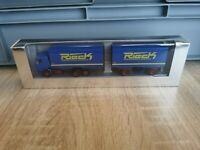 (M2) Herpa LKW H0 1:87 Scania Spedition Rieck OVP
