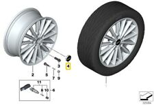 BMW Mini F55 F56 Wordmark Alloy Wheel Center Cap With Chrome Ring 36136857149