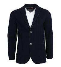 FYNCH-HATTON Herren Sakko Knitted Blazer Farbe Marineblau Gr. 54