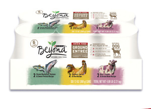 Purina Beyond Grain Free Natural Adult Wet Dog Food Variety Pack(1)Pack 6-13oz