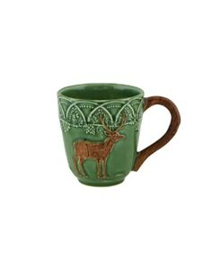 Woods - Mug Deer - Bordallo Pinheiro - Made in Portugal NEW COLLECTION