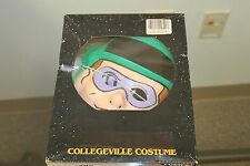 Vintage 80's Collegeville Batman Riddler Halloween Costume - Medium USA