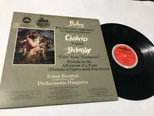 Dukas Chabrier Debussy M&K Realtime dbx Audiophile lp original vinyl album