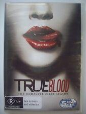 TRUE BLOOD DVD - Complete Season 1 - VGC - Anna Paquin