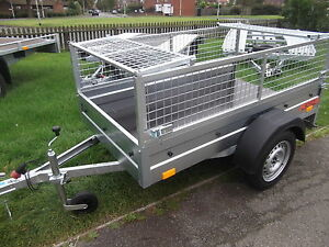NEW MESH Side Trailer Cage BOX Small Car Camping 7FTx4FT 2,03 x 1,12 m