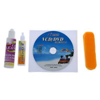 4 in 1 CD DVD Rom Player Maintenance Lens Cleaning Kit F3W1