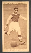 ASTON VILLA   Broome  Original 1939 Vintage Photo Card  VGC