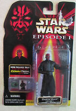 Star Wars - Episode 1 - Action Figure - DARTH MAUL - 1999 W/ CommTech Chip