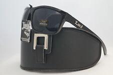 D.G lunettes noir profond polycarbonate verres Gangster Style + Freegift étui