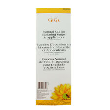 GiGi 0680 Natural Muslin Epilating Strips & Applicators