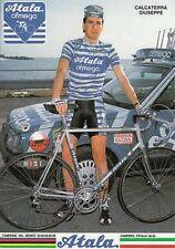 GIUSEPPE CALCATERRA Cyclisme Ciclismo Cycling ATALA 87