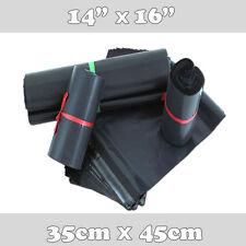 200 FORTE Grigio Plastica Postale Mailing Poly spedizione imballaggio spedizione Bags 14 x 16