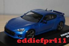 1/43 2012 SUBARU BRZ COUPE IN WR BLUE MICA BY KYOSHO J COLLECTION JC244