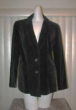 Vintage 1970s Womens Black Velvet Blazer Sport Coat Jacket Koret Boho Euc