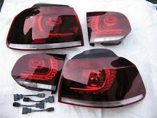 VW Golf 6 VI R LED original tail lights rear lights with adapter GTI GTD R20