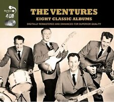 Ventures EIGHT (8) CLASSIC ALBUMS Walk Don't Run ANOTHER SMASH New Sealed 4 CD