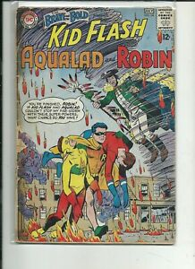 HUGE$$DCEU KEY SOLID/SHARP Brave and The Bold #54 1st Teen Titans Robin COMPLETE