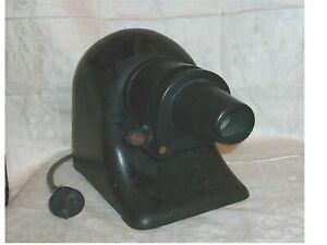 Alter Bildwerfer/Projektor - um 1920 - Bakelit - Originalzustand
