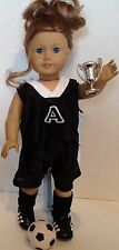 "Sport Uniform Soccer for American Girl Doll 18"" Clothes & Accessories SET"
