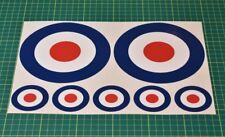 RAF roundels - Mods Bullseyes - Mixed Sizes
