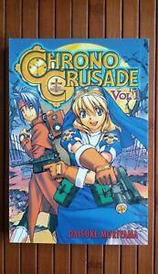 Chrono Crusade Vol. 1,2,3 By Daisuke Moriyama, Paperback, Japanese Manga | Chrno