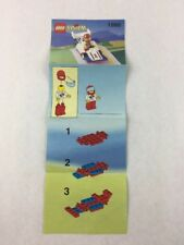 Lego System - Race Car Set 1990 Instructions Booklet / Manual Only - 1993