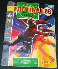 PANINI FOOTBALL 89 ALBUM - 100% COMPLETE - EXCELLENT CONDITION
