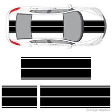 Mazda 2 3 6 RX-7 RX-8 Miata Dual Rally Racing Stripes 3M Vinyl Stripe Decals