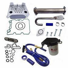 Ford 6.0L 2003-2007 Coolant Filter Kit Oil Cooler EGR Delete Ford Powerstroke