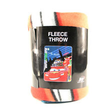Cars 2 Lightning McQueen World Grand Prix London 40 x 50 Fleece Blanket NEW
