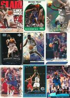 Michael Finley Lot of 18 different Dallas Mavericks basketball Cards EXMT lot