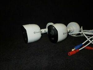 ( Twin Pack ) Swann Pro-1080MSB PIR Heat Movement Sensor 1080P CCTV Cameras
