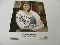 EMMA BARTON Honey Edwards  EASTENDERS Signed Cast Card Photo Autograph TV