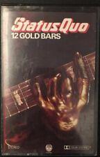 STATUS QUO - 12 GOLD BARS Vol 1 & 2 - 1984 Double Cassette Compilation - VG