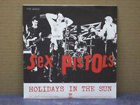 "SEX PISTOLS - HOLIDAYS IN THE SUN - 45 GIRI - MINT/MINT ""RE 2012 - CLEAR VINYL"""