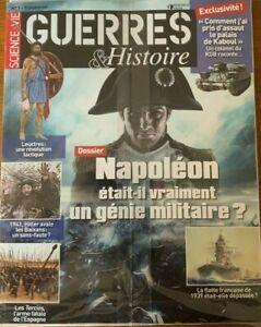 Guerres & Histoire n°1 collector - Revue neuve - Napoléon