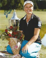 LPGA Brooke Henderson Autographed Signed 8x10 Photo COA RR