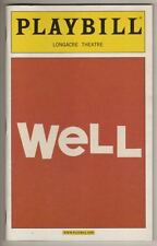 """Well""  Broadway  Playbill   2006   Lisa Kron  &  Jayne Houdyshell"