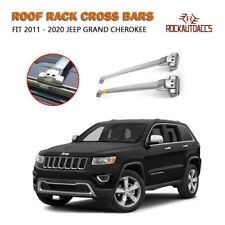 ROKIOTOEX Roof Rack Cross Bars Cargo Carrier Fit 2011-2020 Jeep Grand Cherokee