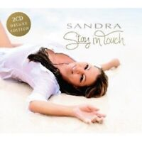 SANDRA - STAY IN TOUCH (DELUXE EDITION)  2 CD  22 TRACKS INTERNATIONAL POP  NEW