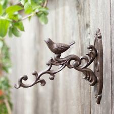 Wandhaken, Aufhänger, Blumenampel, Blumen-Haken, Antikbraun
