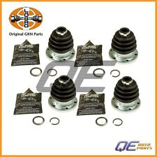 4 Rear Inner Outer CV Joint Boot Kit GKN/Loebro 42343025289 For: Porsche 924 944