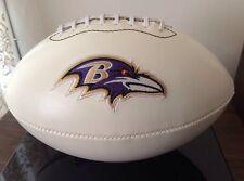 NFL Signature Series Full Size Rawlings Football Baltimore Ravens